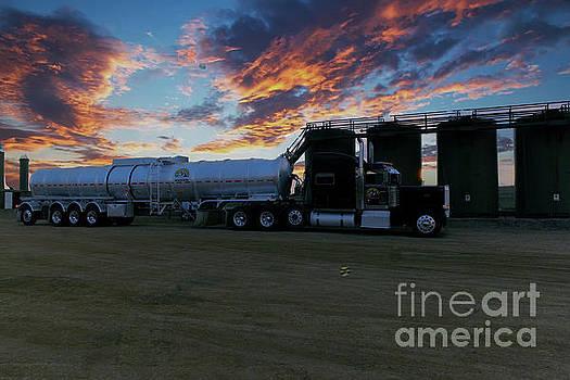 Work truck by Jeff Swan