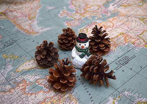 World Pilgrim Snowman  by Inessa Williams