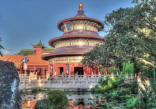 World Showcase China by Randy Dyer