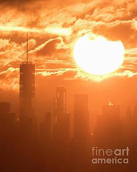 World Trade Center Sunrise by Zawhaus Photography