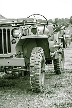World War II Era US Army Jeep by Edward Fielding