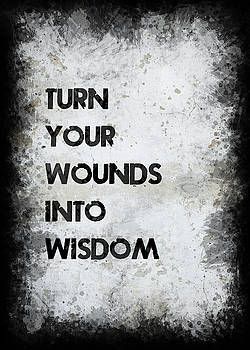 Wounds Into Wisdom by Ricky Barnard