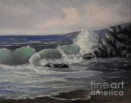 Woven in Waves by Lia Van Elffenbrinck