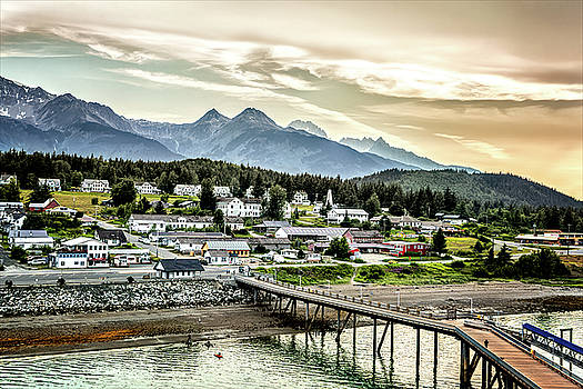Wrangell Alaska by Maria Coulson