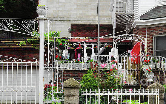 Wrought Iron Fence Art by Doc Braham