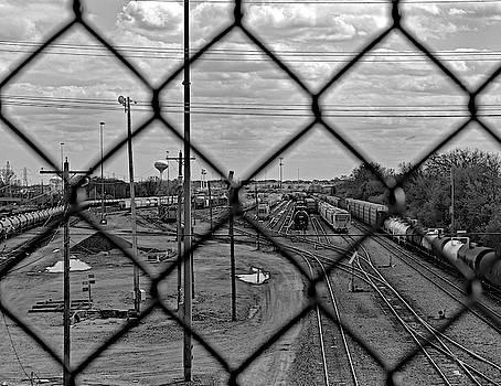 Railroad Yard  by Steve Bell