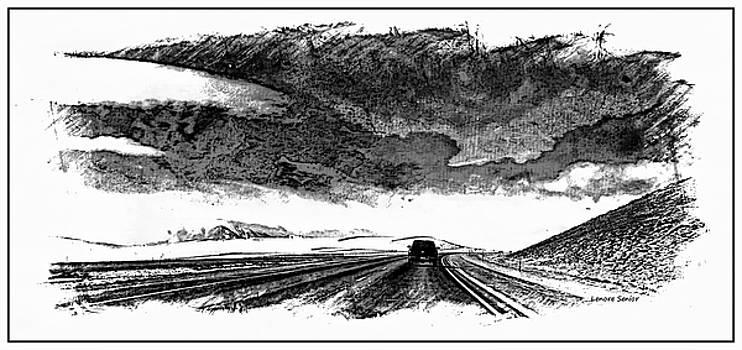 Wyoming Illustration by Lenore Senior