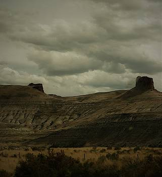 Wyoming Plateaus by Peggy Leyva Conley