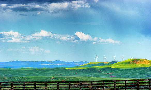 Wyoming Vast Landscape  by Dee Browning