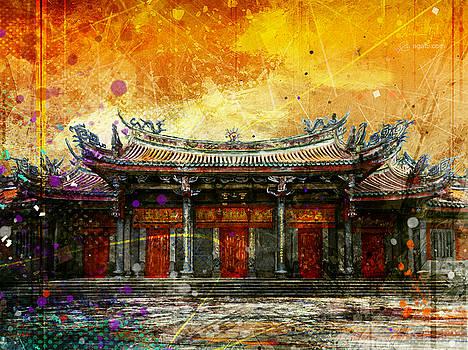 Xingtian Temple by Andrea Gatti