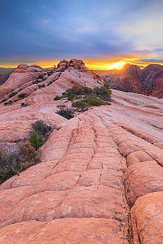 Yant Flat Sunset by Brian Knott Photography