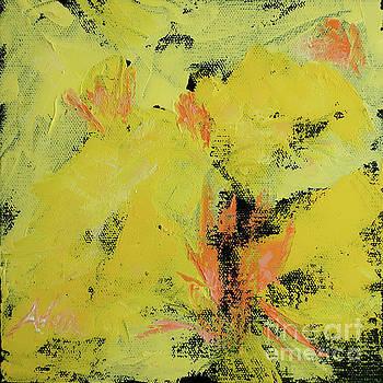 Felipe Adan Lerma - Yellow Blooms Coral Accents