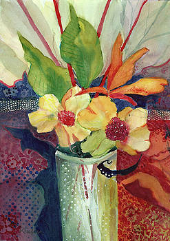 Yellow Blossoms by Kay Fuller
