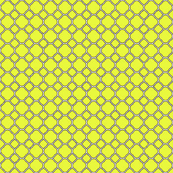 Yellow Clover Pattern by Ross