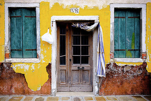 Yellow Doorway by Nicole Young
