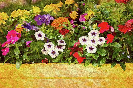 Yellow Flower Box by Vanessa Thomas