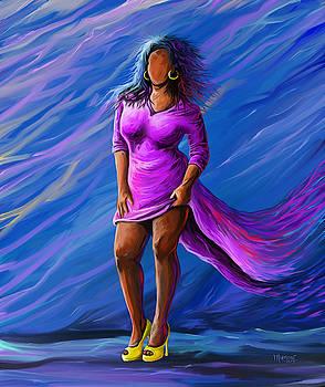 Yellow Heels by Anthony Mwangi