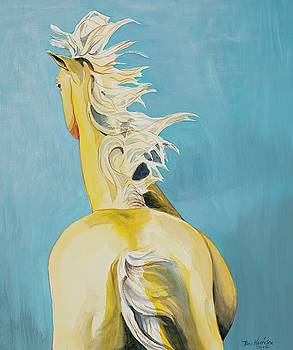 Yellow Horse by Beverly Harrison