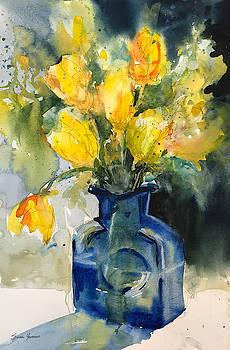 Yellow Tulips by Sarah Yeoman
