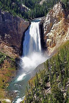 Susan Burger - Yellowstone Falls Two