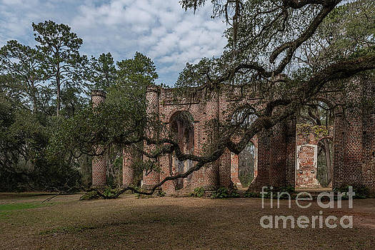 Yemassee SC - Old Sheldon Church by Dale Powell