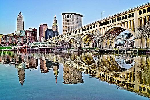 Frozen in Time Fine Art Photography - Yet Another Picture Perfect Day in Cleveland