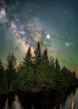 Yooper Night Skies by Marybeth Kiczenski