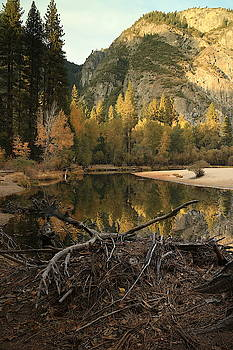 Yosemite At Dusk by Jeffrey PERKINS