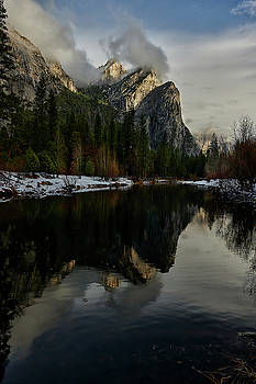 Yosemite Brothers in the Distance by Jon Glaser
