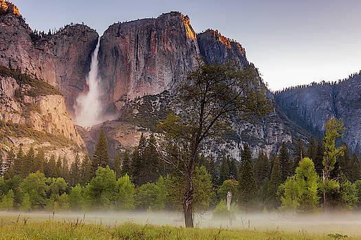 Yosemite Meadow and Falls by Andrew Soundarajan
