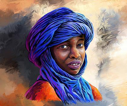 Young Boy from Mali by Anthony Mwangi