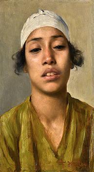 Franz Kosler - Young Egyptian Girl