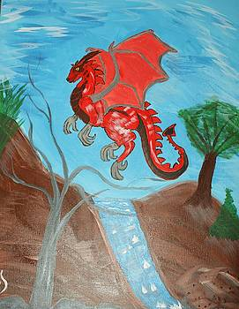 Young Red Dragon by Yvonne Sewell