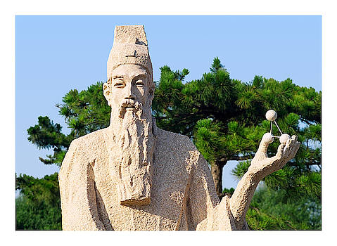 Yuan dynasty science sculpture by Steve Clarke