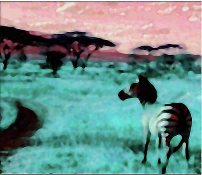 Zebra by Gabby Tary