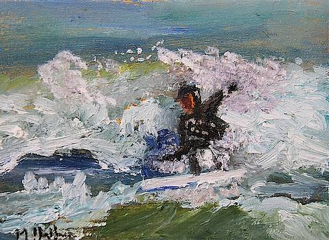 Zen Surfing, One With the Wave by Michael Helfen