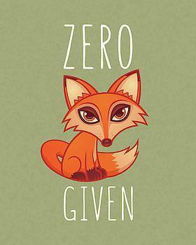 Zero Fox Given by John Schwegel