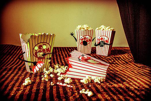 Zombie Popcorn by Traci Asaurus