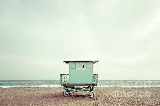 Paul Velgos -  Zuma Beach Malibu California Lifeguard Tower #1 Photo