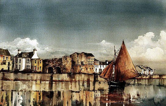 Val Byrne - Cladagh Harbour, Galway Citie.