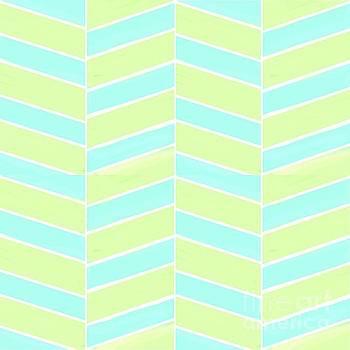 Priscilla Wolfe - Lime Light Chevron