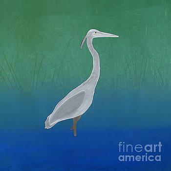 Priscilla Wolfe - Blue Heron