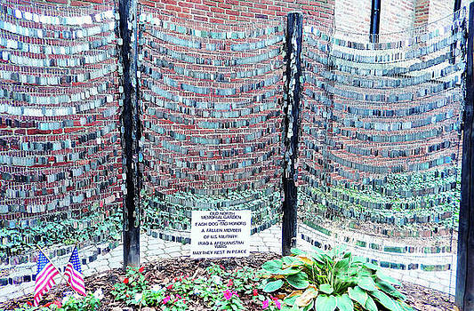 Sharon Williams Eng - Boston Old North Church Memorial Garden 300