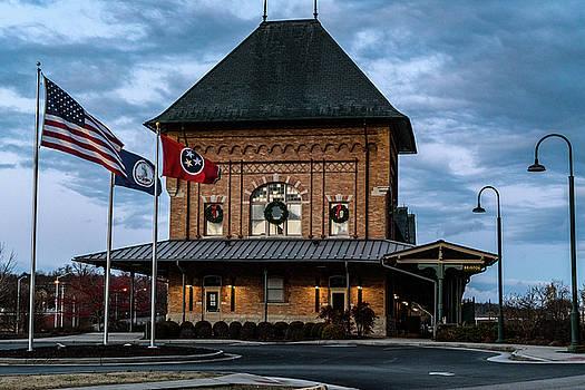 Sharon Popek - Bristol Train Station Flags