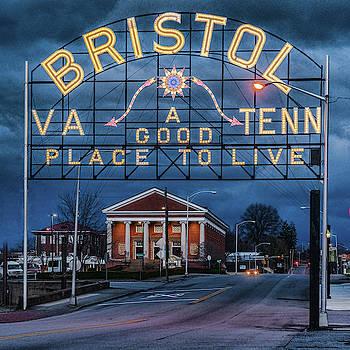 Sharon Popek - Bristol VA TENN Sign