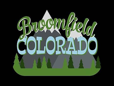 Flo Karp - Broomfield Colorado Retro Mountains Trees