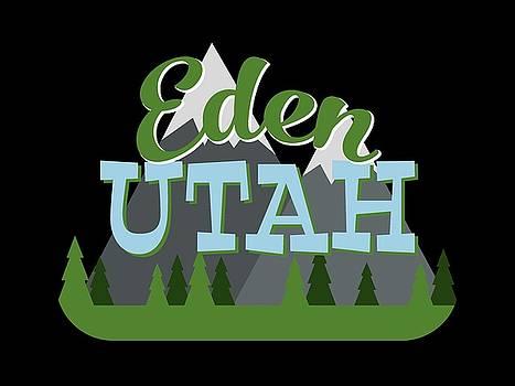 Flo Karp - Eden Utah Retro Mountains Trees