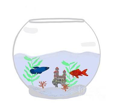 Priscilla Wolfe - Underwater Castle