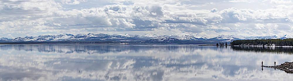Max Waugh - Fishing Yellowstone Lake Pano