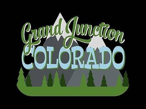 Flo Karp - Grand Junction Colorado Retro Mountains Trees